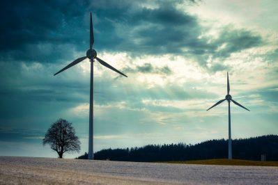 windmills, wind turbines, wind power